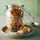 Shreddies Trail Mix - Cinnamon and Post Shreddies(R) Cereal are tossed together with dried fruit, nuts, and shredded coconut for a quick and easy trail mix.
