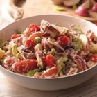 PHILADELPHIA Summer Potato Salad - Baby red potato salad with tomatoes, celery, and Parmesan cheese is tossed with a creamy Italian cheese and herb sauce--and there's enough for a crowd!
