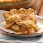 Perfect Apple Pie - A classic apple pie takes a shortcut with easy Pillsbury(R) unroll-fill refrigerated pie crust.