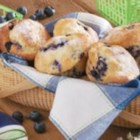 Sour Cream Blueberry Muffins - 'When we were growing up, my mom made these warm, delicious muffins on chilly mornings,' recalls Tory Ross of Cincinnati, Ohio. 'I'm now in college and enjoy baking them for friends.'