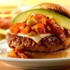 Grilled Maui Burgers - Casual and gourmet come together in these easy-to-make burgers with a Hawaiian spin. So fire up the grill...they'll be ready in no-time!