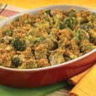 Campbell's Kitchen Broccoli and Cheese Casserole - Serve this creamy broccoli and cheese casserole as a side dish or a vegetarian main course.