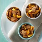 Shreddies Mayan Snack Mix - Taco seasoning gives zesty, Mexican flavor to this crunchy, cheesy snack mix.
