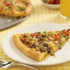 Jimmy Dean Sausage Breakfast Pizza - This pizza is made with a combination of all your favorite breakfast foods, such as sausage, cheese, hash browns, and eggs. Top with thinly sliced red, yellow and green bell peppers for a beautiful (and tasty!) presentation.