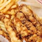 Finger Steaks - Finger steaks are simply strips of steak that have been battered in beer and seasoned flour and deep fried.
