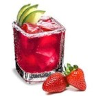 Strawberry Sauza(R)-Rita - A strawberry margarita with a little sparkle.