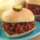 Sister Schubert's(R) Sloppy Joes - With lots of lean ground beef, chopped bell pepper, ketchup, brown sugar, and loads of flavor, this classic Sloppy Joe served on fresh dinner rolls feeds a crowd.