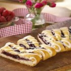Raspberry Breakfast Braid - When it's fresh out of the oven, this raspberry filled coffee cake smells as good as it tastes.