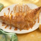 Apple Turnovers by Marzetti(R) - Puff pastries are filled with a delicious combination of Granny Smith apples, butter, cinnamon, cookie crumbs and Marzetti(R) Old Fashioned Caramel Dip.