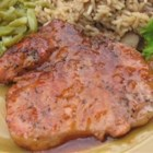 Spicy Pork Chops - Spicy tomato sauce easily livens up plain old pork chops.