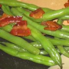 Airport Bob's Green Beans - A simple, sweet, green bean and bacon side that others will crave.