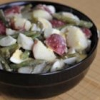 Potato, Egg and Green Bean Salad - Fourth generation egg farmer Chris Mullet Koop knows a thing or two about tradition, which is why his family loves this potato salad.