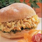 Bacon 'n' Egg Salad Sandwiches - One day I decided to make egg salad and just started adding a little of this and a little of that. I came up with this recipe that my family really enjoys. I serve it whenever my grandkids come to visit.