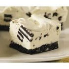 PHILADELPHIA-OREO No-Bake Cheesecake - On a chocolate cookie base, this easy no-bake cheesecake is filled with more chopped cookies for a winning dessert treat.