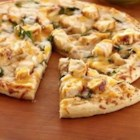 Saute Express(R) Saute Starter Garlic Chicken Pizza - Pizza night is made easy with this flavorful chicken and two cheese pizza.