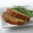 Meatloaf with Truvia(R) Natural Sweetener - Truvia(R) Natural Sweetener puts a new spin on meatloaf by pairing lemon and subtle sweetness with savory beef and green pepper under a flavorful sauce.  Truvia(R) natural sweetener reduces this recipe by 120 calories per serving, compared to the original sugar-sweetened version.