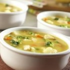 Curried Chicken Chowder - Creamy and hearty, this chowder offers great taste satisfaction with just a tease of curry.