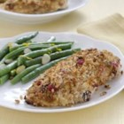 Cranberry Orange Stuffing Crusted Chicken