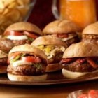 Johnsonville Italian Sausage Sliders - These crowd pleasing sausage and beef sliders will be perfect for your next party. Serve them with your favorite condiments.