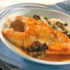 Pan-Roasted Halibut with Morel Confiture, Sweet Pea Risotto and Morel Tea - This is the dish for those special occasions when you want to showcase your elegant entertaining style. It takes two hours from start to finish, but the recipe is easy to follow and the results are outstanding.