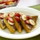 Chocolate Banana French Toast - Using chocolate milk and bananas to flavour their French toast is the way Joe and Connie Van Aert like to make this family favourite.