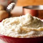 Ultra Creamy Mashed Potatoes - This 'most requested' side dish starts with fresh potatoes simmered in Swanson(R) Broth, mashed and richened with butter and cream.