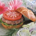 Spicy Turkey Burgers - The hot pepper sauce comes through nicely to spark the flavor of these moist turkey burgers shared by Mavis Diment from Marcus, Iowa. 'This is a good low-fat burger without the boring taste of typical low-fat foods,' she notes.