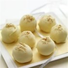 Eggnog Truffles - Eggnog Truffles make a great holiday or hostess gift. Package the truffles in a holiday tin between wax paper.
