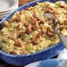 Broccoli Rice Casserole by Minute(R) Rice - The quintessential creamy side dish just perfect for dinner, an office potluck, or a holiday recipe idea.