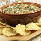 Campbell's Kitchen Warm Spinach Dip - Treat your family and friends to this classic creamy dip featuring the spicy heat of Pace(R) Picante Sauce.