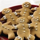 Gingerbread Men Cookies - These Gingerbread Men Cookies are as cute as can be. If desired, decorate with raisins, currants or cinnamon red hot candies for eyes and buttons. Or, pipe untinted or colored icing onto cookies.