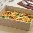 Pasta Bake with Broccoli and Cheese - This cheesy, comforting pasta bake is made healthier with broccoli florets and PLUS pasta, giving you additional protein, Fiber and ALA-Omega 3.