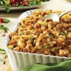 Moist and Savory Stuffing - Perfectly-seasoned Pepperidge Farm(R) Herb Seasoned Stuffing, celery and onion are combined with Swanson(R) Chicken Broth for a classic, moist stuffing dish.