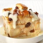Cinnamon Raisin Bread Pudding with Vanilla Yogurt Sauce - A new take on a crowd-pleasing dessert, this bread pudding is sprinkled with cinnamon and raisins and served with a vanilla pudding sauce. Made with nutrient-rich, lactose-free milk, this recipe is a friendly option for those who are lactose intolerant.