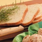 Rosemary Cheddar Bread - 'My husband and I love rosemary-and cheddar-crusted potatoes, so I adapted a potato bread recipe to include our favorite flavors,' writes Tammy Perrault of Lancaster, Ohio.  The bread machine makes this herbed loaf a snap to prepare. 'Everyone who has tasted it asks for the recipe,' Tammy says.