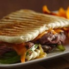 Philly Cheesesteak Panini - This is a fun, easy way to make panini, when you start with Pillsbury(R) refrigerated bread dough!