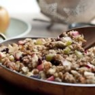 Apple-Raisin Stuffing - Do you prefer a stuffing that is a little sweet?  Try this exquisite stuffing that balances the savory ingredients with apples, raisins and a touch of cinnamon.