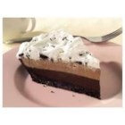 OREO(R) Triple Layer Chocolate Pie - A cookie crust holds three chocolatey layers for a creamy no-bake pie.