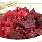 Beets with Onion and Cumin - Beets simmered with garlic, onion and cumin seed.