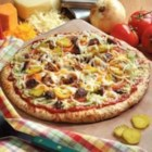 Grilled Cheeseburger Pizza - 'I combined our daughter's two favorite foods--pizza and grilled cheeseburgers--to create this main dish,' says Tanya Gutierro from Beacon Falls, Connecticut. 'It's very simple to make, and she and her friends love it. If you don't like the toppings, replace them with whatever you prefer.'