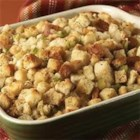 Classic Herb Stuffing - Make this savory stuffing, featuring poultry seasoning and thyme, a holiday tradition at your house. The oven-baked stuffing is the perfect complement to roasted turkey or turkey breast.