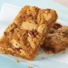 McCormick(R) Cinnamon Caramel Swirl Bars - Cinnamon is the star ingredient in this indulgent recipe certain to please one and all. This favorite spice combines with gooey caramel for a truly decadent dessert.