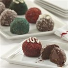 Peppermint Truffle Cookies - A chocolate surprise awaits you when you bite into these rich truffle-like cookies.