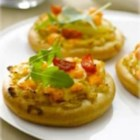 Mini Veggie Pizza with Maille® Honey Dijon Mustard