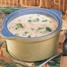 Trout Chowder - This hearty chowder cooks conveniently in a slow cooker so I can spend more time fishing and less in the kitchen. Adding fresh taste and lively color to the rich cheesy broth is broccoli. -Linda Kesselring, Corning, New York
