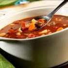 Savory Vegetable Beef Soup - When you start with Swanson(R) Beef Broth, you can ladle up flavorful homemade beef and vegetable soup in just 30 minutes.