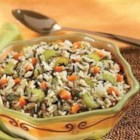 White and Wild Rice Pilaf - A special rice pilaf sports sauteed onion, carrots, celery and parsley and both white and wild rice simmered in savory Swanson(R) Vegetable Broth.