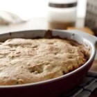 Beef and Cornbread Bake - A hearty side dish for a grill menu, this savory corn bread casserole can be served on the patio or kept warm to take to a picnic site.