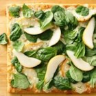 Pear Gorgonzola Pizza - With sweet pear and creamy cheese, this delicious pizza recipe is ready in 30 minutes.