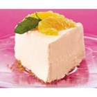 Orange Dream PHILLY Cheesecake - Garnish this light and creamy cheesecake with fresh mint sprigs or thin peeled orange slices.